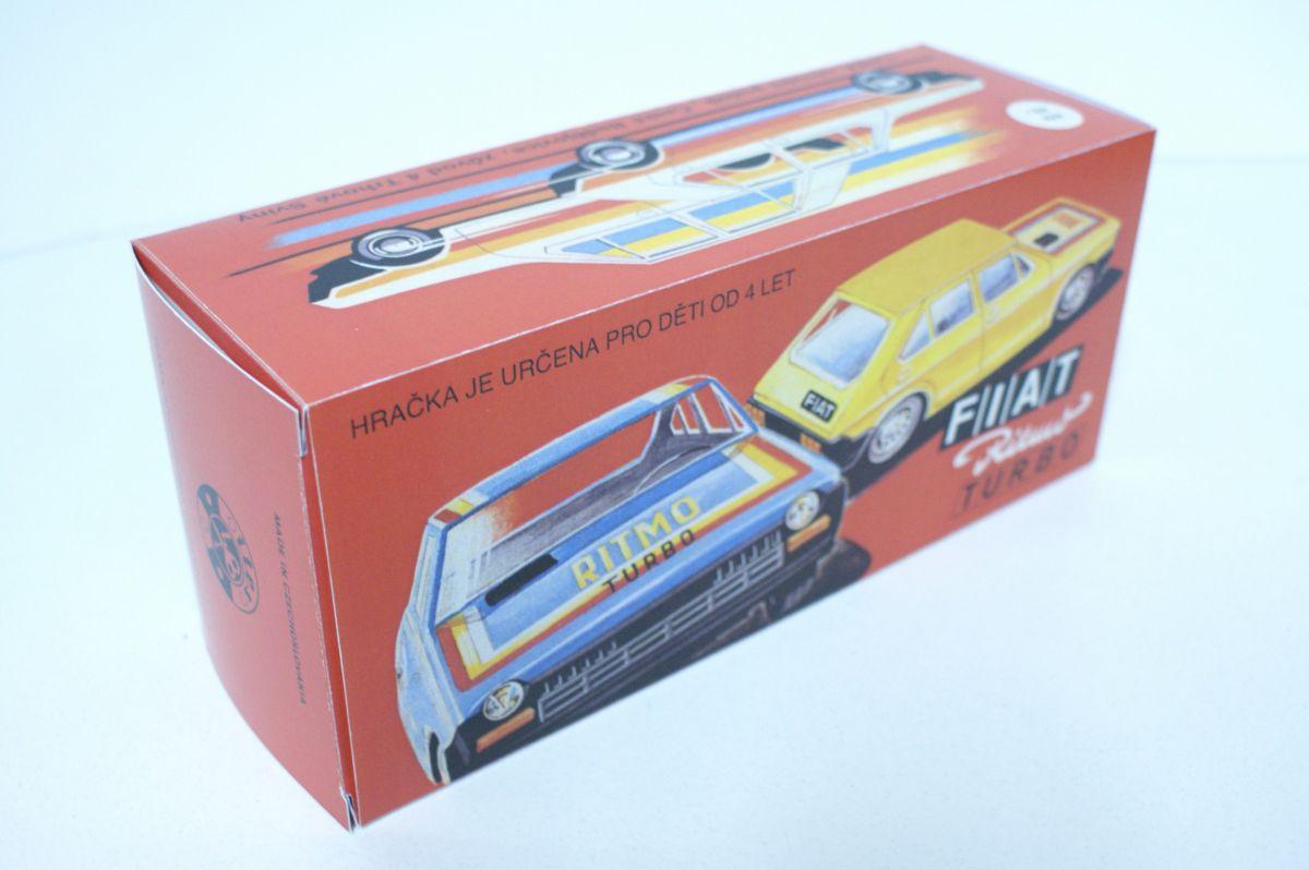 Krabička Fiat Ritmo Turbo ITES na setrvačník