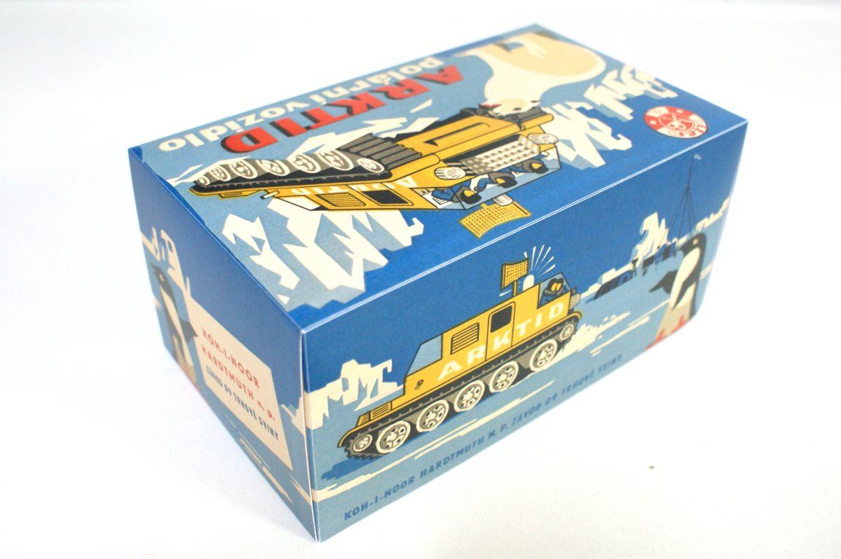 Krabička Arktid polární vozidlo ITES