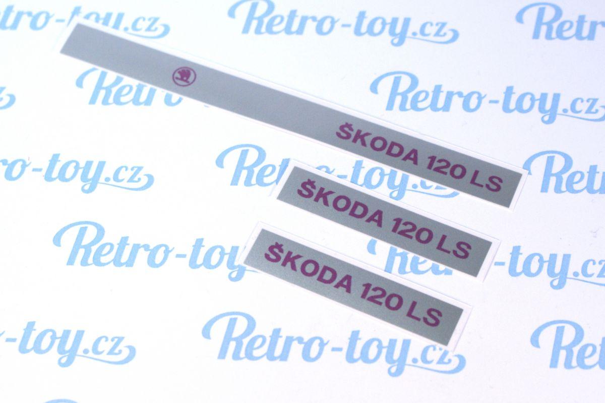 Sada samolepek Škoda 120LS Ites