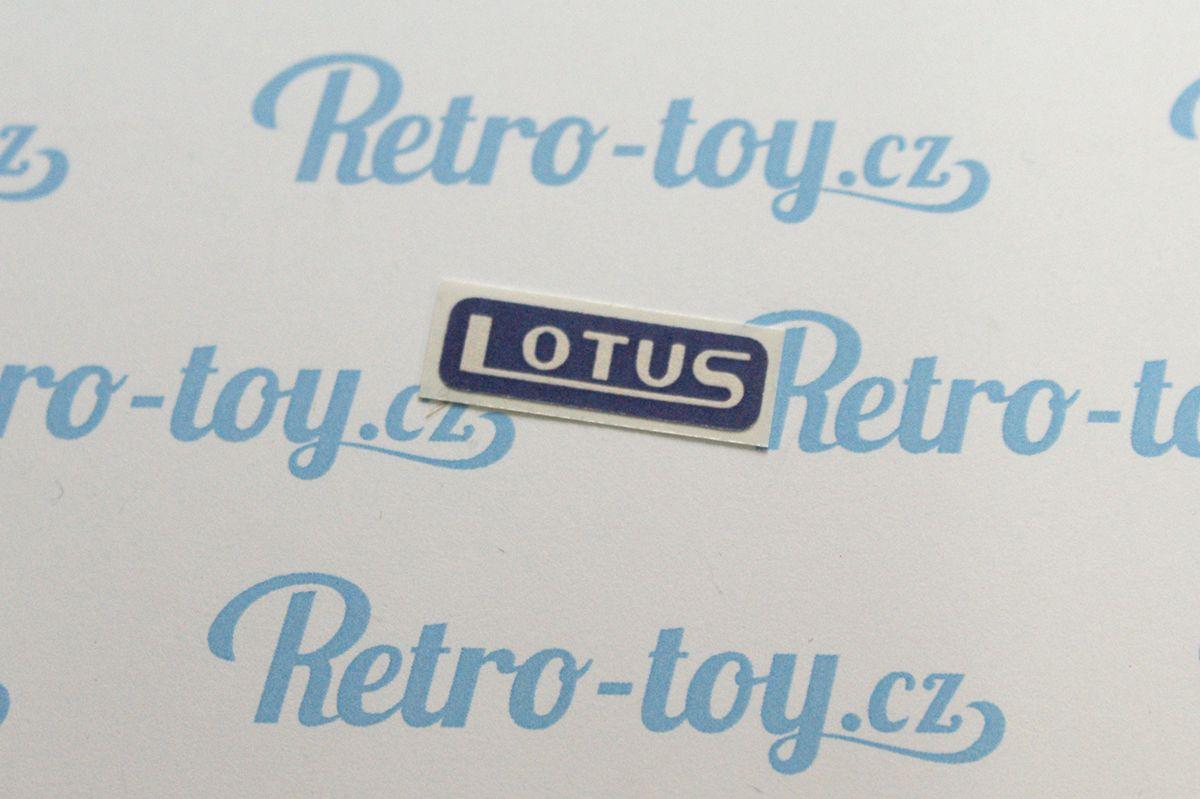 Samolepka pro formule Lotus F1 Ites