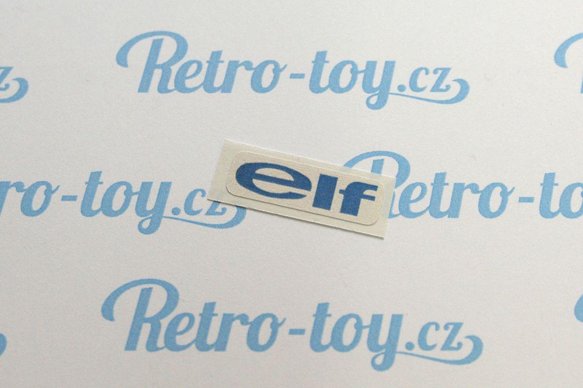 Samolepka pro formule ELF F1 Ites