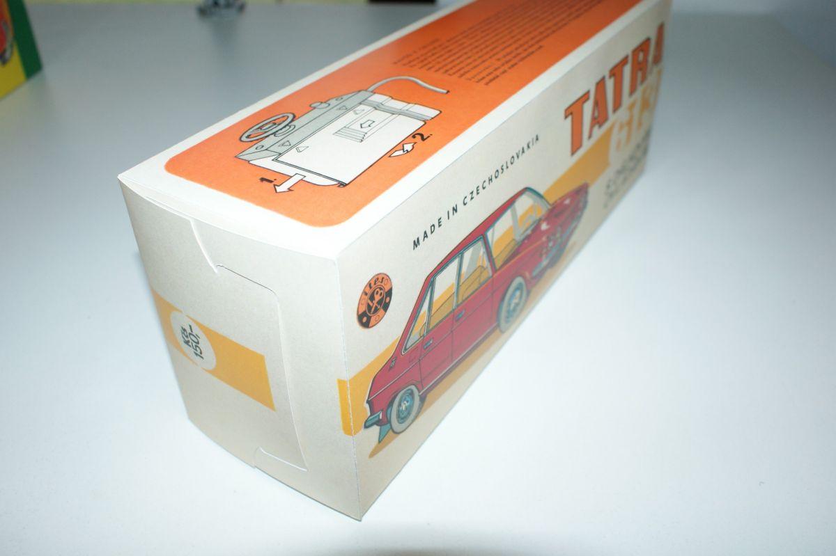 Krabička Tatra T613 ITES 1. typ