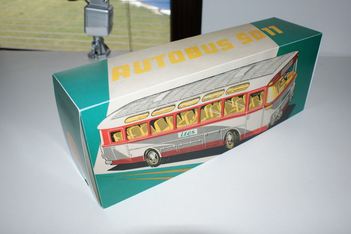 Krabička autobus ŠD 11 ITES na bovden
