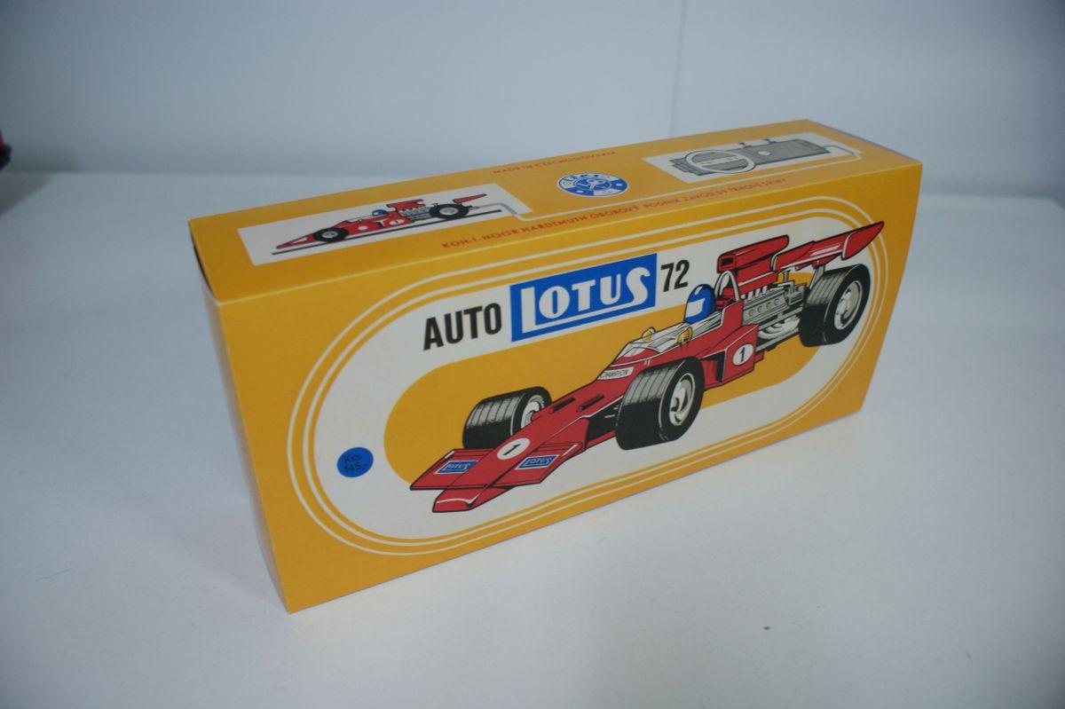 Krabička formule BRM a Lotus ITES