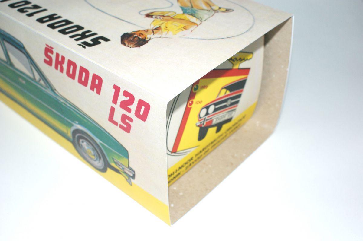Krabička Škoda 120LS ITES na bovden