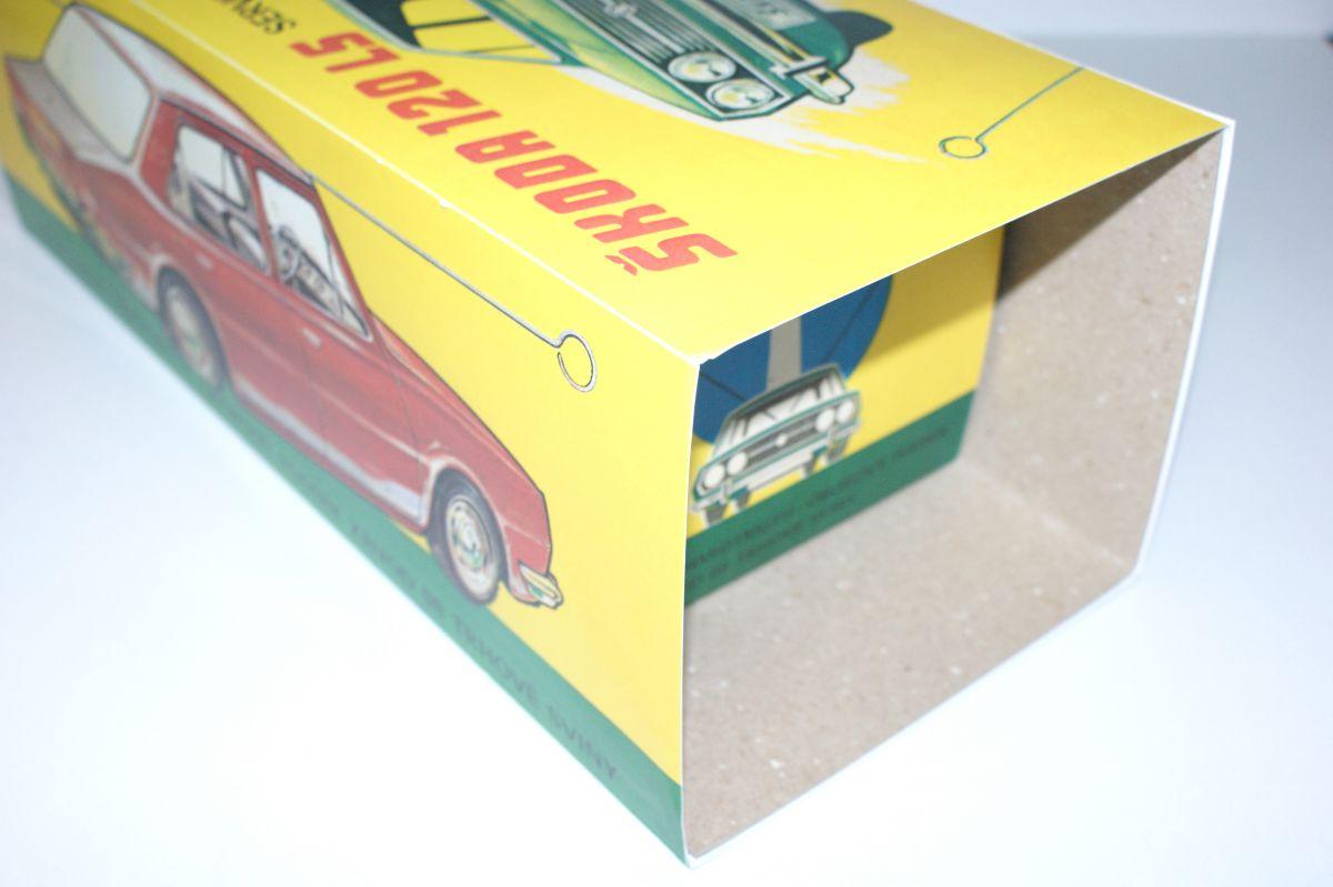 Krabička Škoda 120LS ITES servo